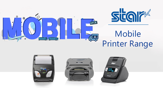 Mobile Bluetooth POS-skrivere